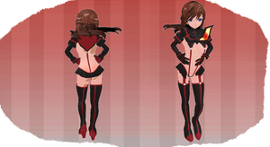 MMD Kill to Kill Outfit by MMD3DCGParts