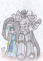 Morde x Sona:  Rainy Day by KegiSpringfield