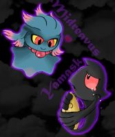 Adorable Apparition Pokemons by KD476