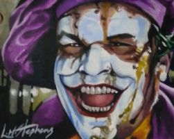 Jack Nicholson as The Joker by sullen-skrewt
