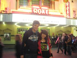 my and my Boyfriend in Moviepark by Stepzzi