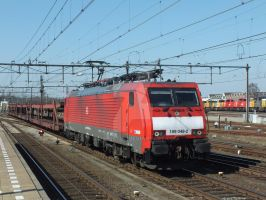 DBS 189 048 with empty pon train by damenster
