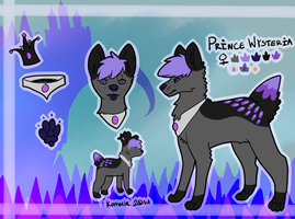 Prince Wysteria Reference Sheet by Kama-ItaeteXIII