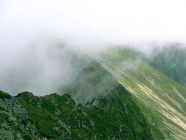 Fagaras Mountains by memysandi