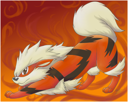 Arcanine by Sabientje