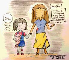 APH and Adventure Time: The Tale of Two Marcys by marimariakutsu