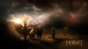 The Hobbit: An Unexpected Journey - my vision by MichalNowak