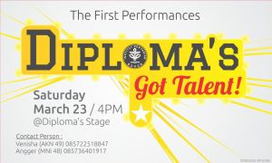 Diploma's Got Talent Perform by dendicious