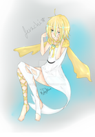 Jirachi Gijinka by Kirby1fan