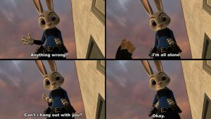 POV: Judy Hopps end by shrunkenlover