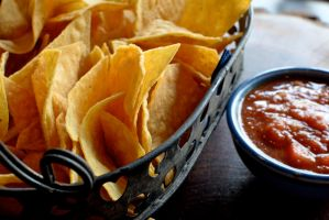 Salsa and Chips by avaschmava