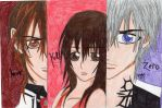 The Pureblood, the Guardian, and the Hunter by The-Kawaii-Kitty