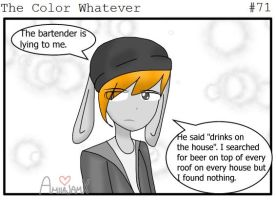 #71 The Color Whatever by AmiiaJamx