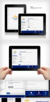 BATCA iPad App UI by EAMejia