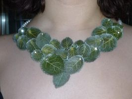 Leaves necklace by Teodora85