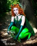 Poison Ivy cosplay by swampfoxinsc