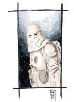 SnowTrooper commission by idirt