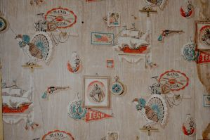 Old House Vintage Wallpaper by FairieGoodMother