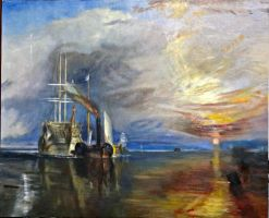 Copy of J.M.W. Turner's 'The Fighting Temeraire' by Jagroar