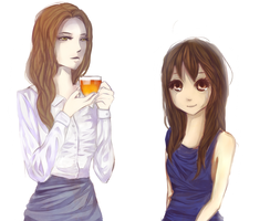Anne and Ashleigh by Miranduless