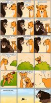 the lion king comic by fibralo