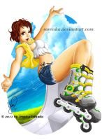 Go Rollerbladers by sorenka