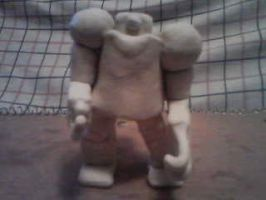 giant clay robot by Dragontear11