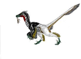 Linheraptor exquisitus by Durbed