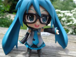 Hipster Miku by LowlyWorm