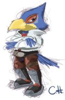 Falco Doodle by mrstupes