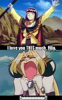 Slayers 'I love you THIS much, Filia' by PPLyra