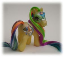 My Little Pony Custom ShuSui by eponyart