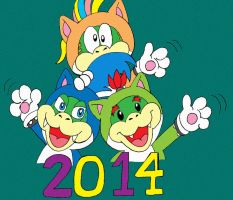 The Koopas meow 2014 by wackko200
