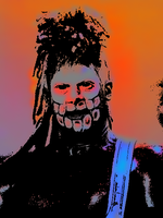 Wes Borland Pop Art by dxal