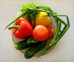 Mixed Vegetable by Lady-Integra