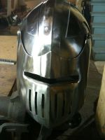 Tim's Helm by CheshireAFox