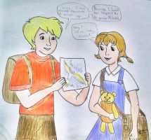 Contest entry: Cody and Penny by GracefulTatiana1897