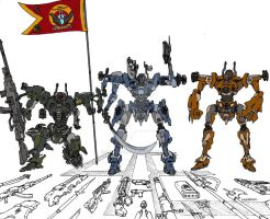 Wolves -unit colors by shinsengumi77