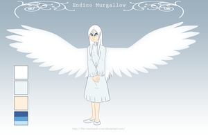 Personal Character Ref and Bio, Endico by The-Clockwork-Crow