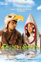 eagle Vs shark  movie poster 2 by zenderski