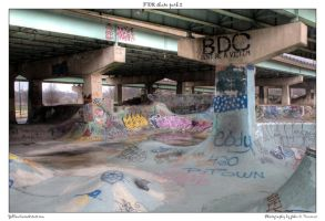 FDR skate park 2 by yellowcaseartist