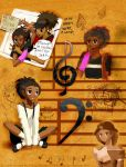 Treble Clef, Bass Clef by Aivilo0