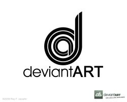 Deviant Art Logo 12 reyj by reyjdesigns