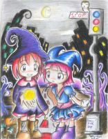 Witchy Town 2 by Patty-kun