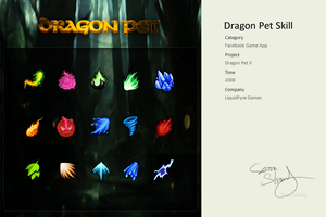 Dragon Pet Skill by cseec