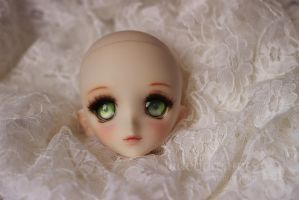 Dollfie Dream face up commission by fadeddreamss