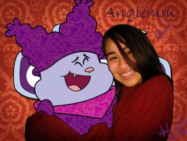 03-07 devArt ID with Chowder by angiemm