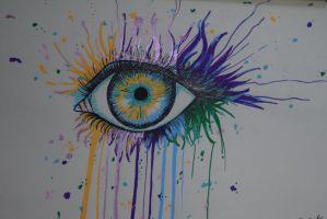 Artist eye by Last-Czarnian