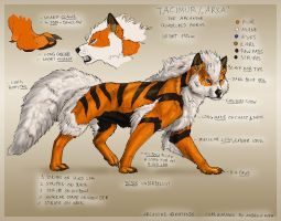Taci Ref Sheet by Tacimur