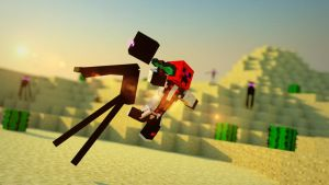 28eme wallpaper enderman (Daiklan81) by Hyrp